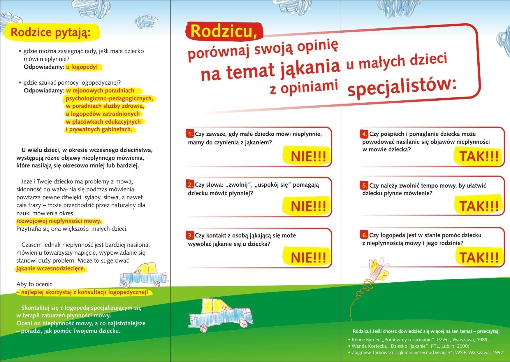 Plakaty Centrum Logopedyczne