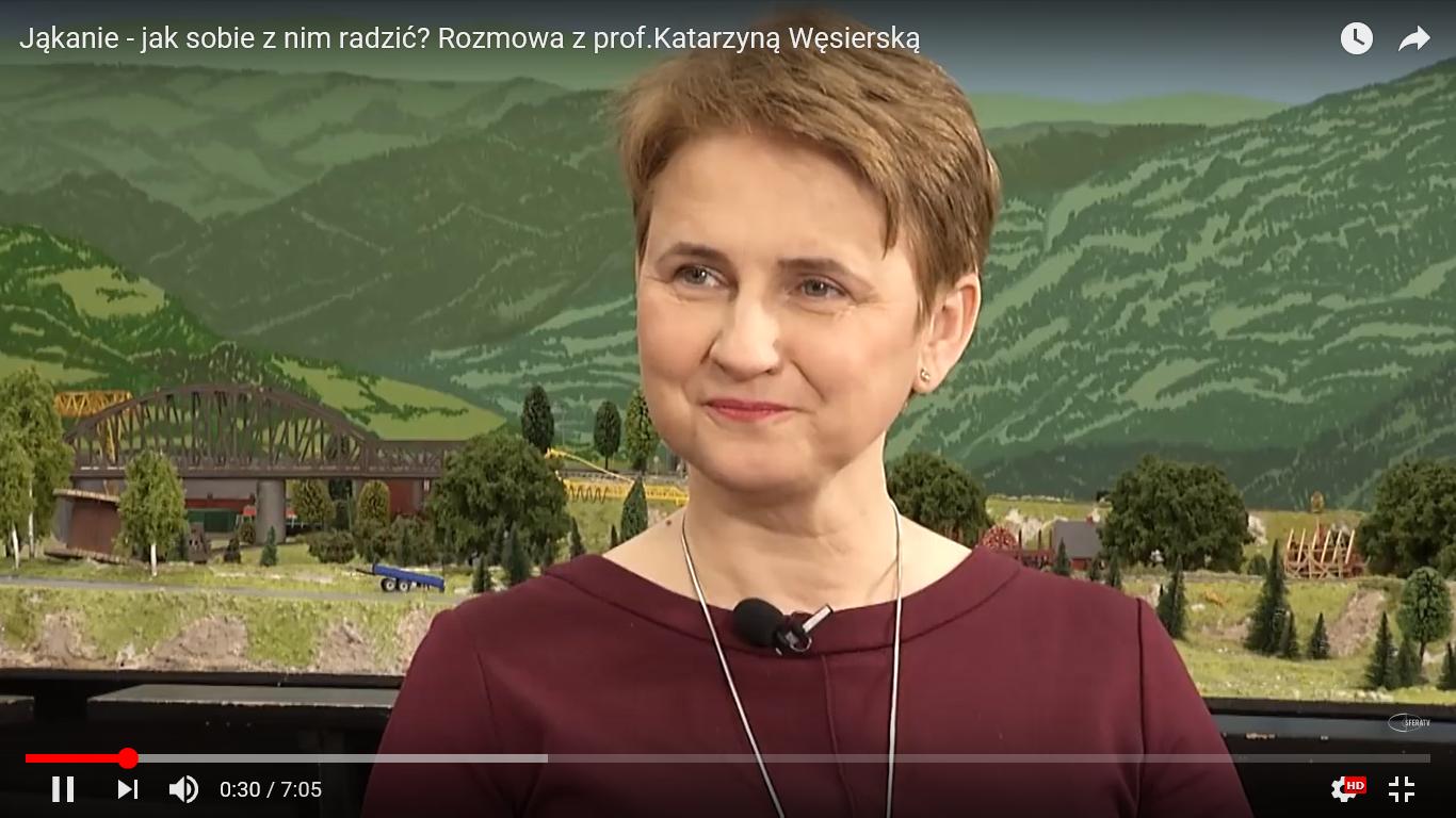 Jąkanie - jak sobie z nim radzić? Rozmowa z prof. Katarzyną Węsierską