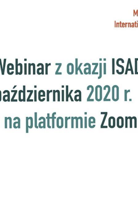 Międzynarodowy Dzień Świadomości Jąkania – 23.10.2020. Bezpłatny webinar